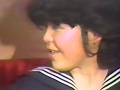 80s Japanese Lesbian and 3P Uncensored