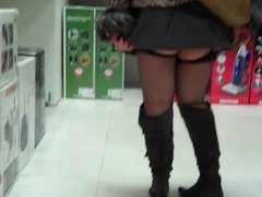 Shopping and Upskirt