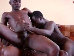 Erotic Black African Threesome 2