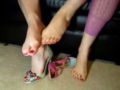 Footsie, foot play, foot fetish