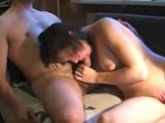 amateur german slut hand job and suck