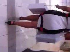 Milf Super Fat ass in Dress