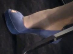 Sexy nylon feet 2