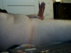 While playing on cam recently....
