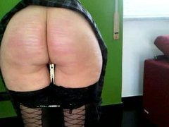 wife caning for very bad cleaning