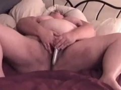 BBW Wife playing with her pussy for me!!!
