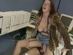 mature in stockings get fucked by younger boy