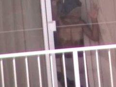 sista having sex in window of hotel HI Voyeur