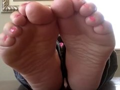 Bbw Soft Soles, Pretty Wiggly Toe 1
