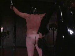 Mistress Aradia inflicts pain on her sub