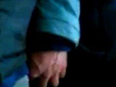 Metiendo mano en bus 12, agarron de culo