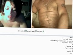 Hot spanish couple on Chatroulette