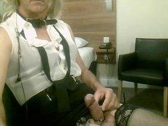 cuming on my stockings
