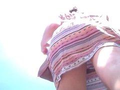 Upskirt 15 - Amazing ass with black thong