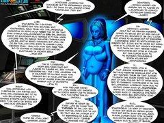 3D Comic: Galacticus 14