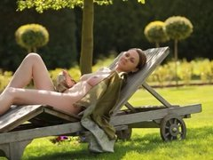 Outdoor nude photoshoot