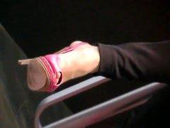 tacchi 12 cm plateau peep toe in vernice