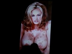 Cum tribute to Stormy Daniels