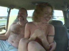 Kennedy fucked in van