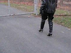 leather biker bitch