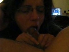 Nice blowjob with cumshot in mouth