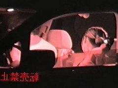 Car Sex Shoot By Infrared Camera Voyeur