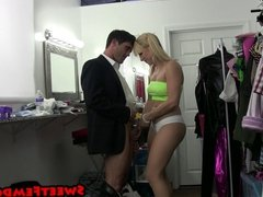 Ashley Fires and Her Sleazy Boss 1 BALLBUSTING TEASING