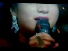 Shreya Ghoshal Cum Shot