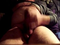Thick Cock Dad Shoots a Load