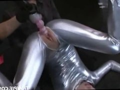 Asian Made To Orgasm In A Bodysuit