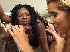 Isis Love & Andreena Threesome With Jack Napier