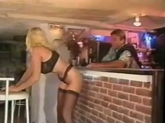 Getting Lucky At The Bar With Big Boobed Lynn