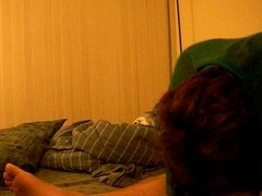 Indian horny wife cuckolds with hubby's roommate