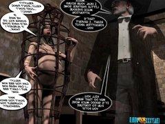 3D Comic: Desires... of the flesh. The beginning