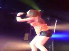 Victoria Justice performing Live