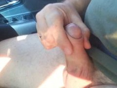 stroking while driving