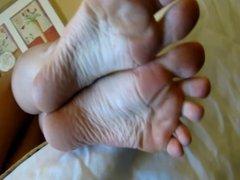 Milf's Soles & Purple Toes