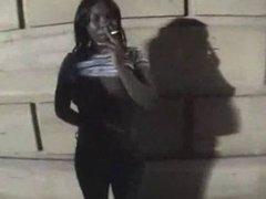 BLACK GIRL GETS NAKED IN PUBLIC