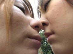 Lesbians Kissing In Public