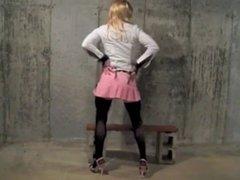 skinny sissy unload his balls
