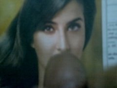 Cum over Katrina Kaif while listening Chikni Chameli