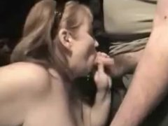 amateur cocksucker mature swallows lots of cum