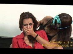 Lesbians Neck Strangle Fetish
