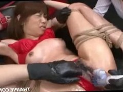 Asian Oiled And Made To Orgasm