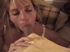 Sweet Blonde blowjob