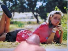 Cum on Katrin Krabbe Retro-Tribute