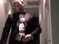 Guest masturbates after a wedding
