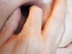 Asshole fuck close up big gape gaping butt june 2013