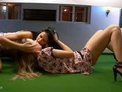 18yo lesbians Ivana and Mia go wild