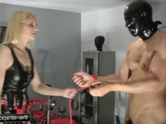 Strapon Punishment and Whipping
